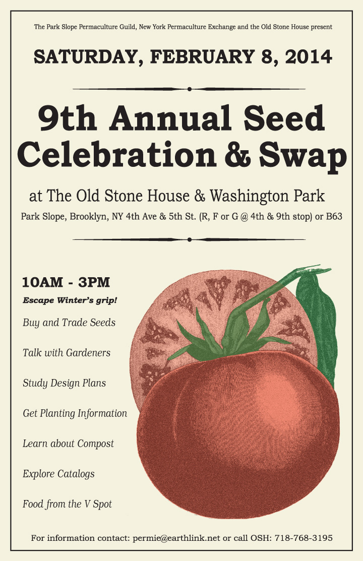 9th Annual Seed Celebration and Swap