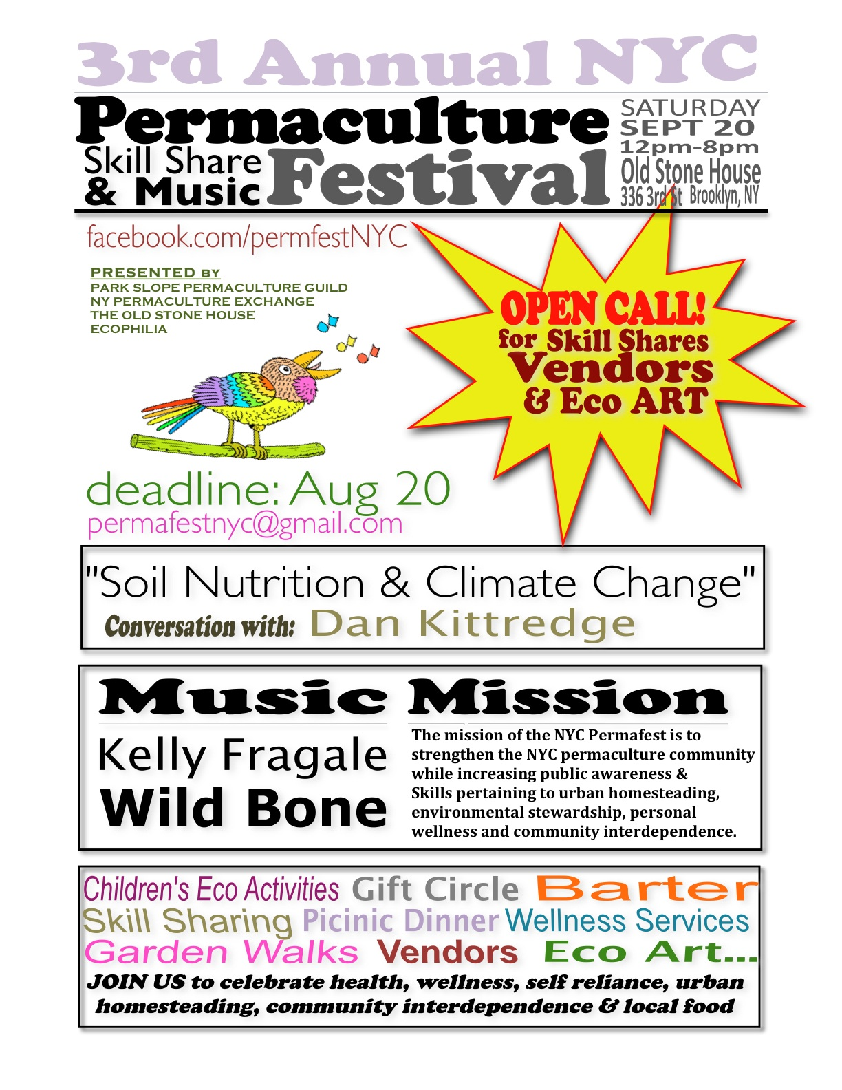 Permaculture Festival 2014