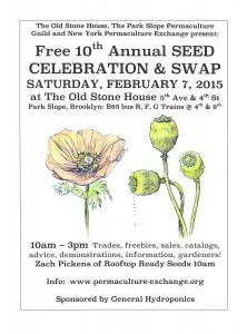 Seed Celebration @ OSH