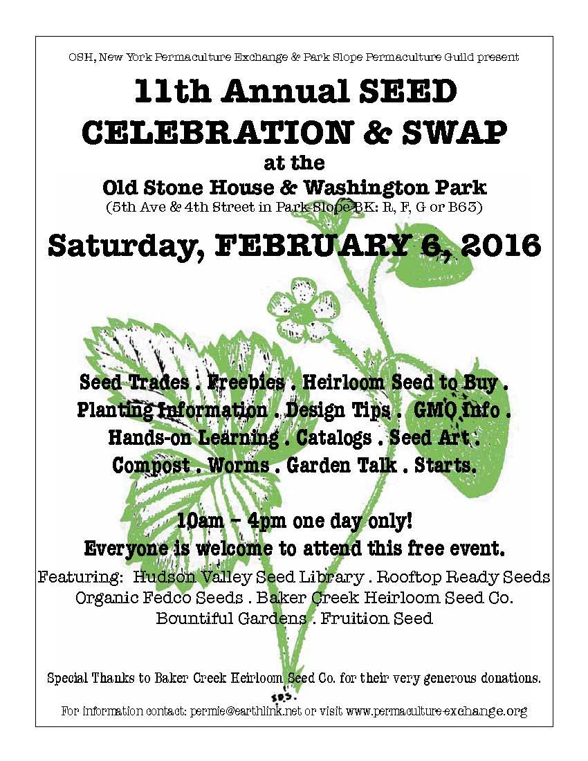 Seed Celebration 2016