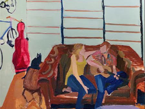 Contemporary artwork from the show Partners Parents Pets
