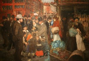 Street Scene, historic