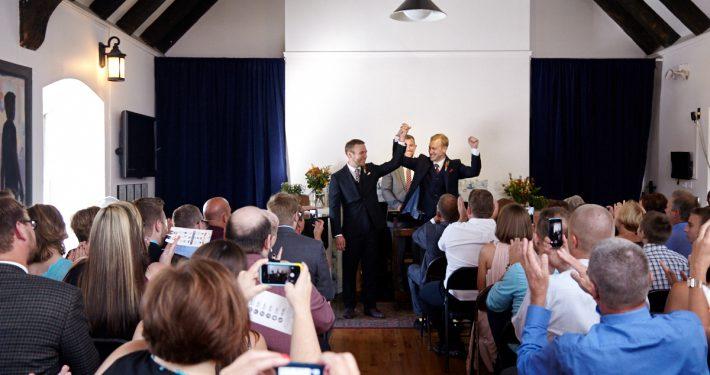 Wedding ceremony at OSH