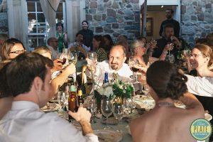 Wedding dinner at OSH