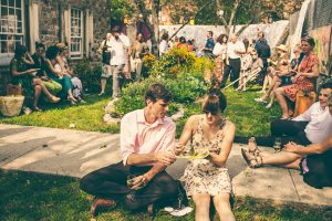 Wedding picnic at OSH